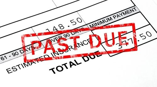 Do you have a process in place for collecting overdue payments?